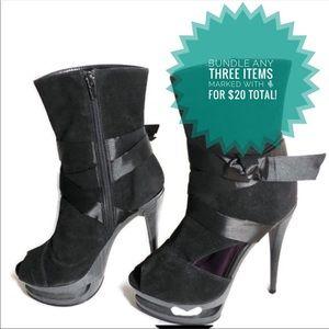 🌵Privileged Platform Open Toe Boot